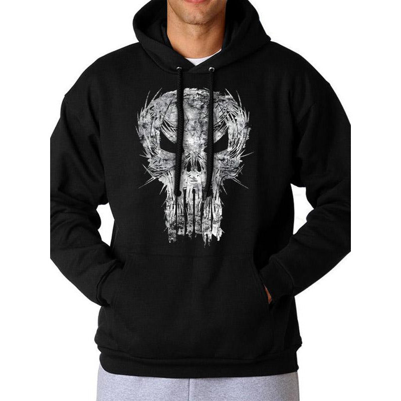 MARVEL COMICS | PUNISHER SHATTER SKULL | PULLOVER HOODIE