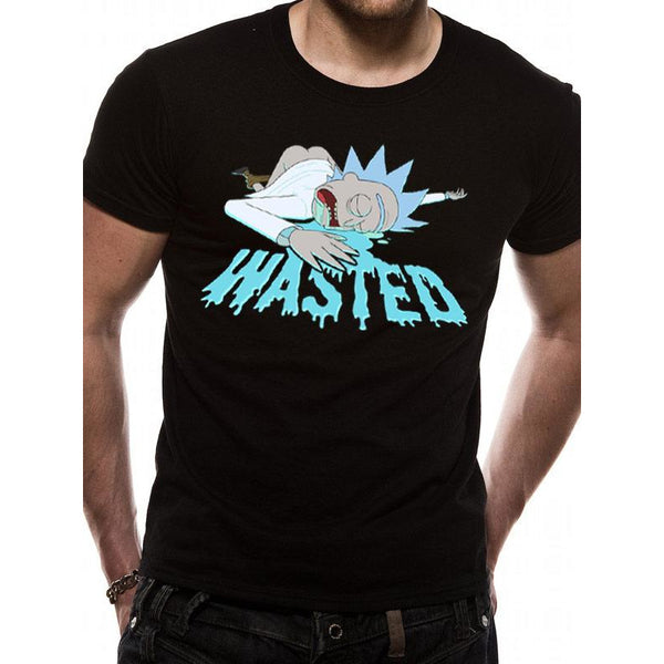 RICK AND MORTY | WASTED | UNISEX T-SHIRT