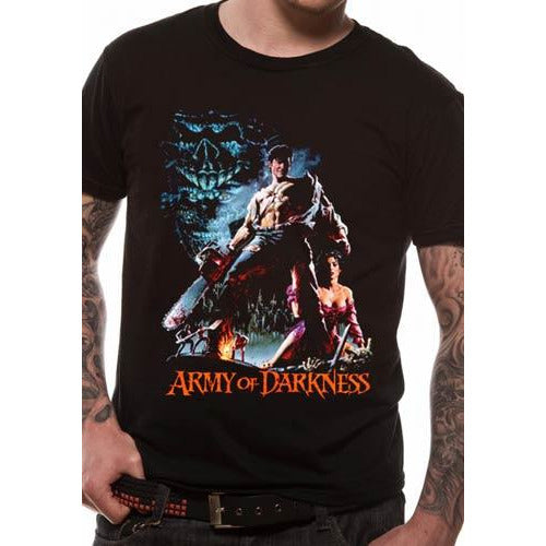 ARMY OF DARKNESS | SMOKING CHAINSAW | UNISEX T-SHIRT