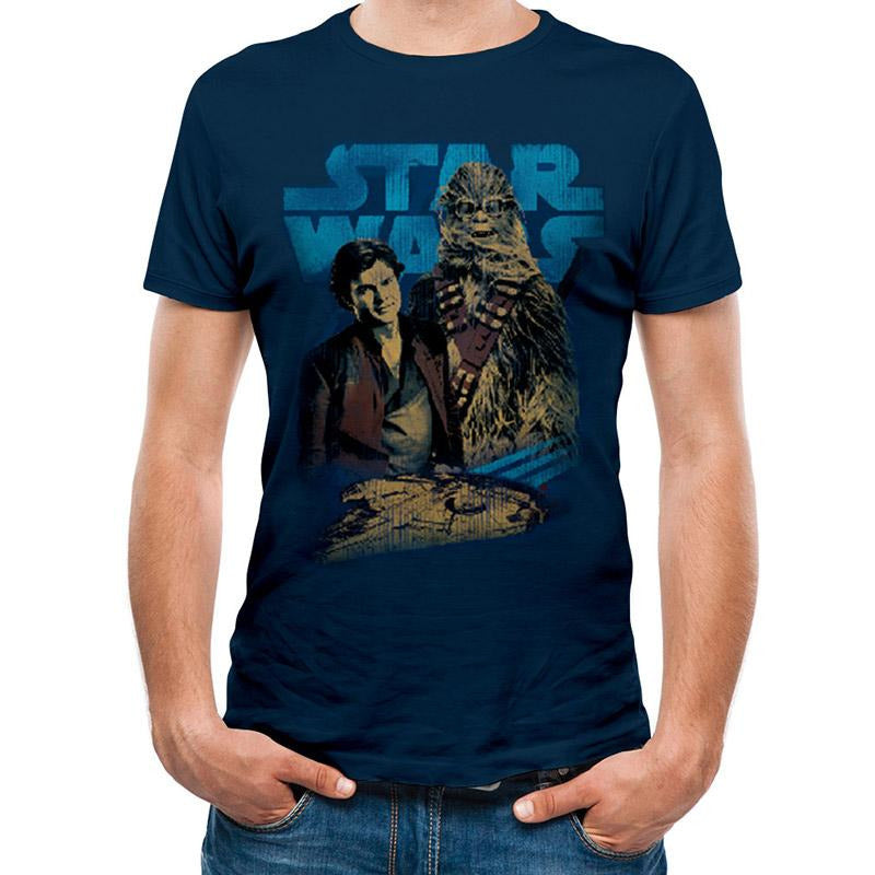 HAN SOLO MOVIE | HAN AND CHEWIE | UNISEX T-SHIRT