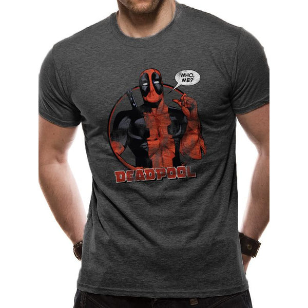 DEADPOOL | WHO ME DARK HEATHER | UNISEX T-SHIRT