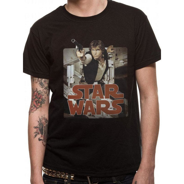 STAR WARS | HAN RETRO BADGE | UNISEX T-SHIRT