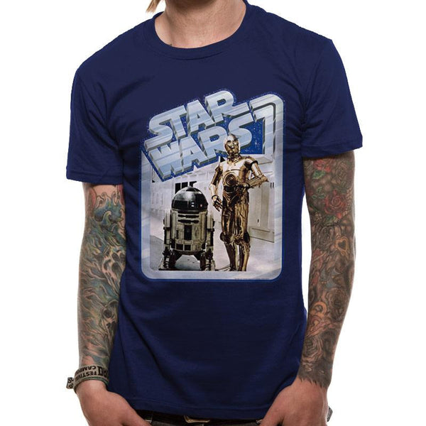 STAR WARS | DROIDS RETRO BADGE | UNISEX T-SHIRT