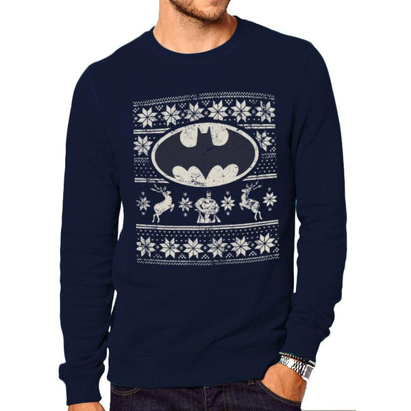 BATMAN | FAIR ISLE LOGO | CREWNECK SWEATSHIRT