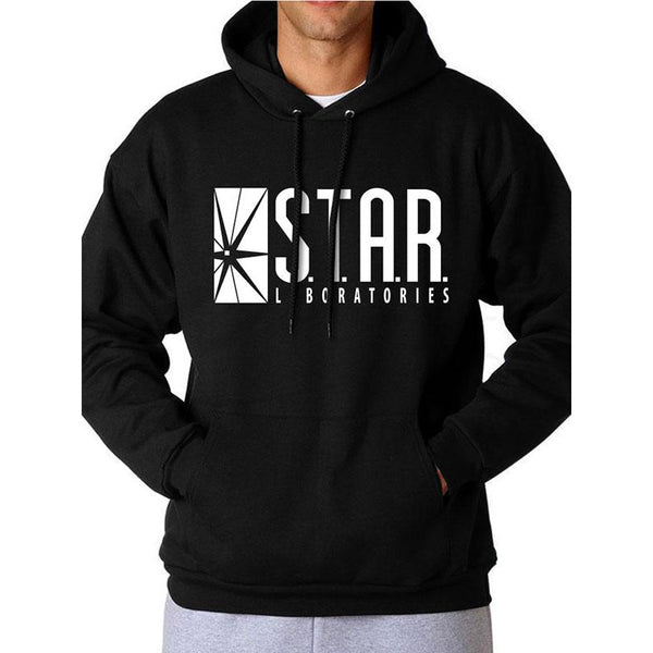 THE FLASH (TV) | STAR LABS LOGO | PULLOVER HOODIE