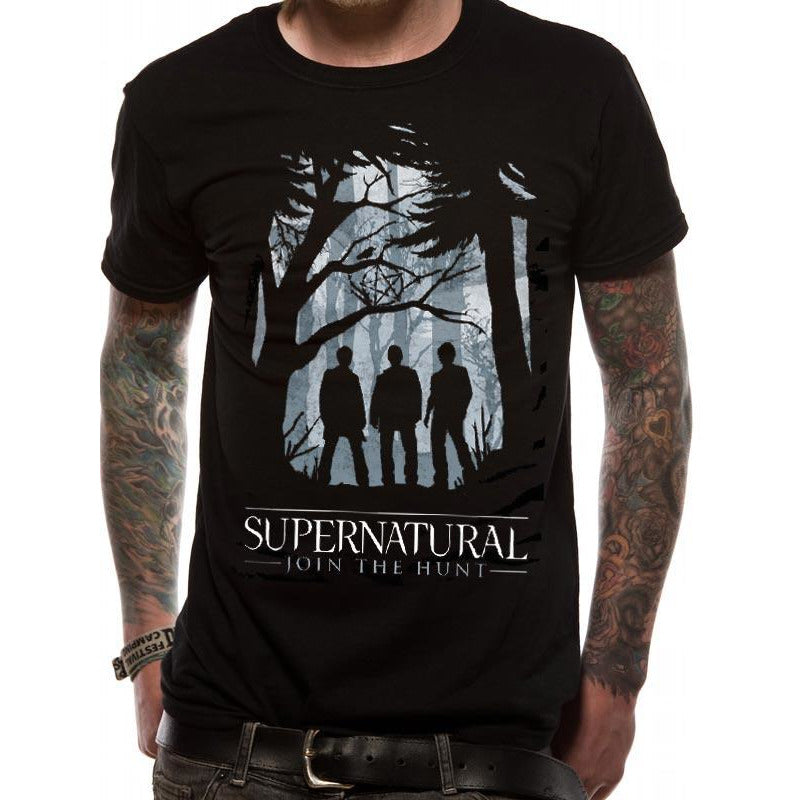 SUPERNATURAL | GROUP OUTLINE | UNISEX T-SHIRT