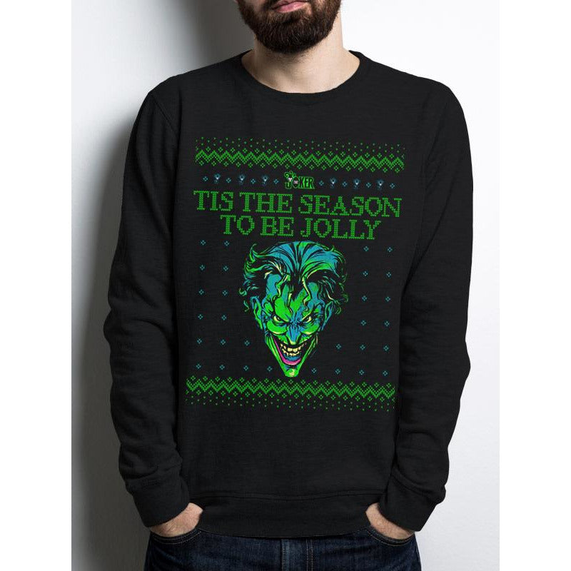 JOKER THE | TIS THE SEASON | CREWNECK SWEATSHIRT