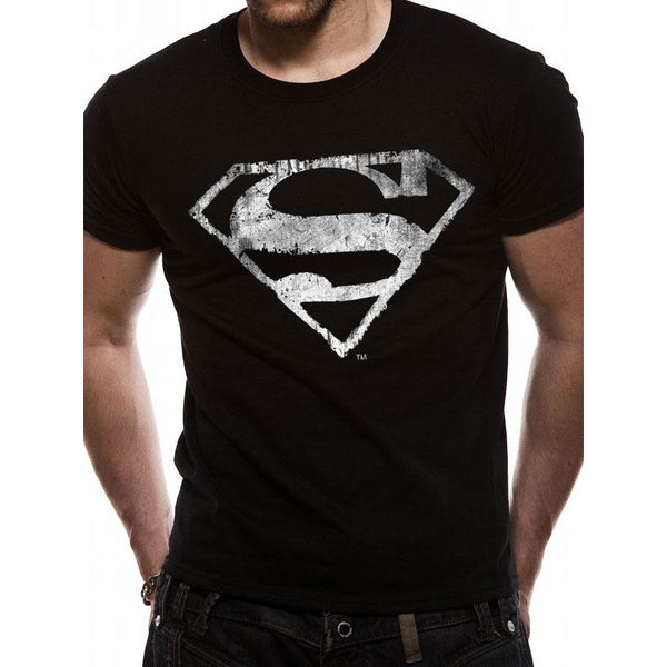 SUPERMAN | MONO DISTRESSED | UNISEX T-SHIRT
