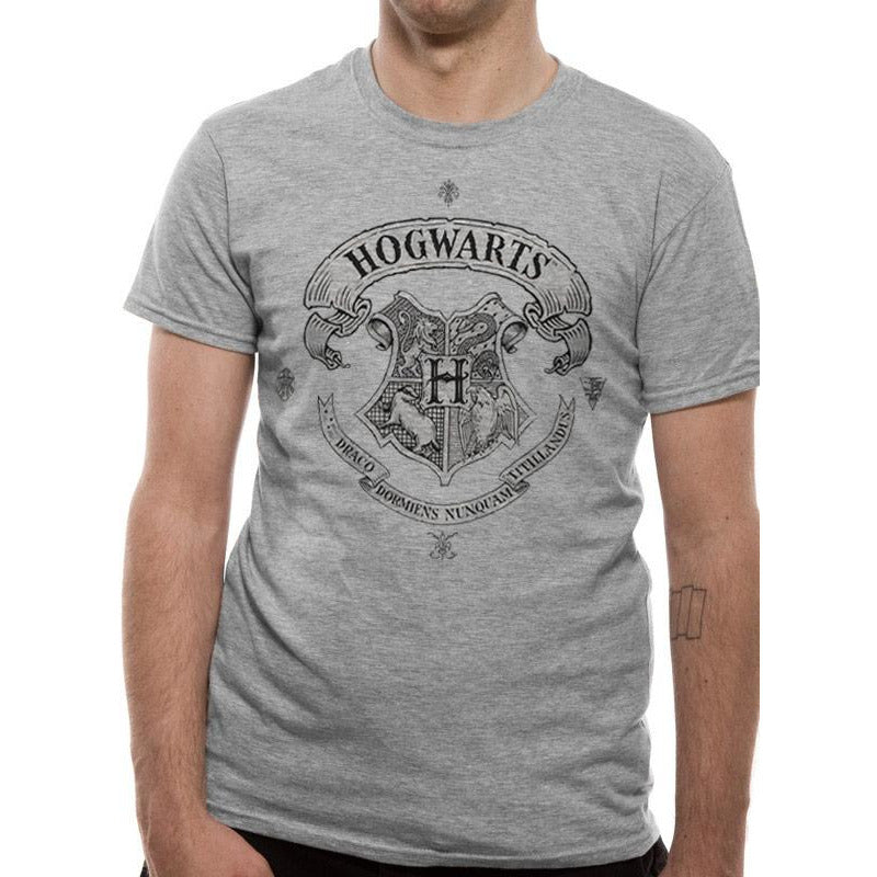 HARRY POTTER | HOGWARTS ONE COLOUR | UNISEX T-SHIRT