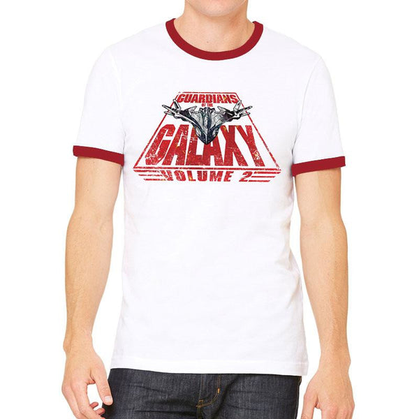 GUARDIANS OF THE GALAXY 2 | MILANO AND TEXT | UNISEX RINGER T-SHIRT