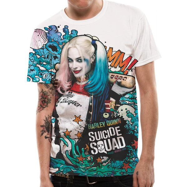 SUICIDE SQUAD | SUBLIMATED GRAFITTI | UNISEX PREMIUM T-SHIRT