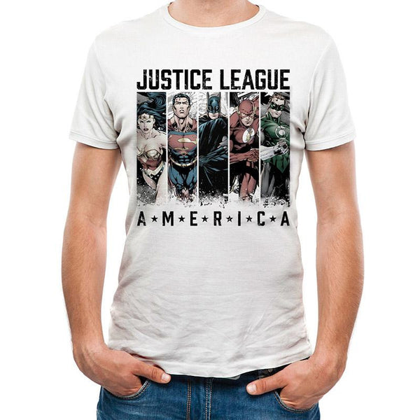 JUSTICE LEAGUE | AMERICA | UNISEX T-SHIRT