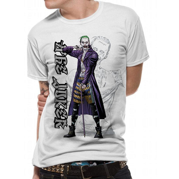 SUICIDE SQUAD | CARTOON JOKER | UNISEX T-SHIRT