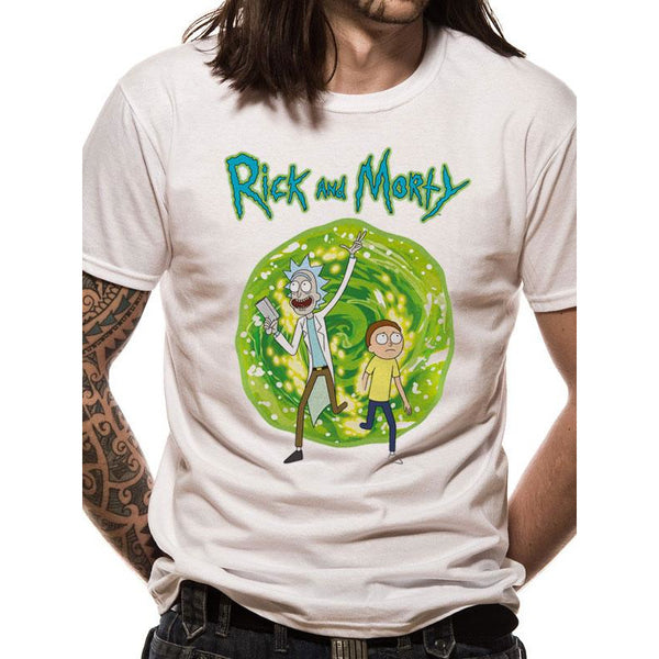 RICK AND MORTY | PORTAL FRONT ONLY | UNISEX T-SHIRT