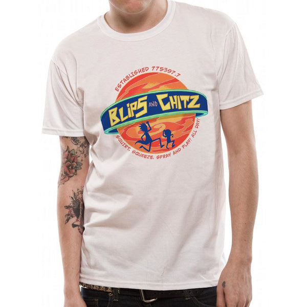 RICK AND MORTY | BLIPS AND CHITZ | UNISEX T-SHIRT