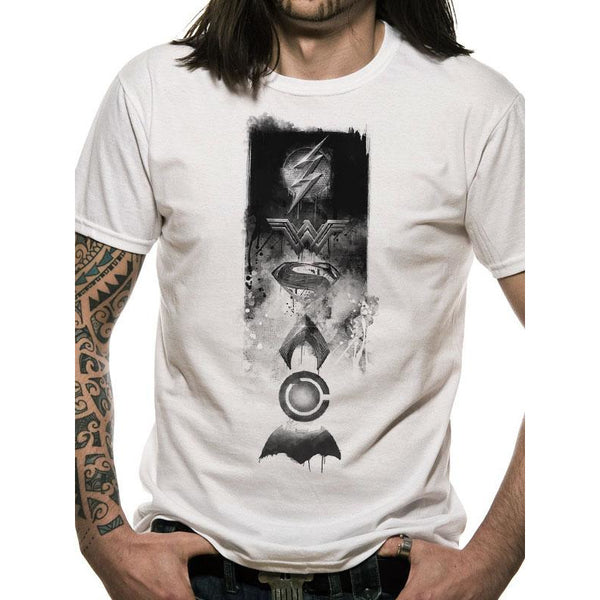 JUSTICE LEAGUE | ICONS | UNISEX T-SHIRT