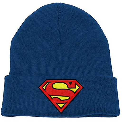 SUPERMAN | LOGO BLUE BEANIE | HEADWEAR