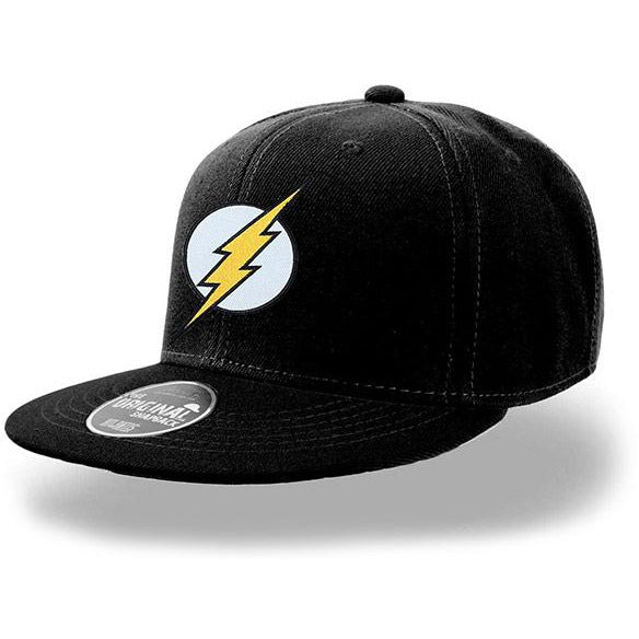 FLASH | LOGO SNAPBACK CAP BLACK | HEADWEAR