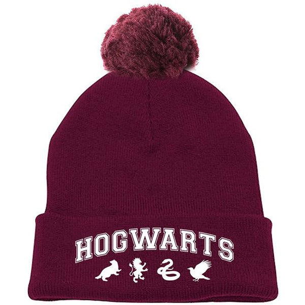 HARRY POTTER | HOGWARTS POMPOM BEANIE | HEADWEAR