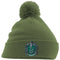 HARRY POTTER | SYTHERIN CREST POM BEANIE GREEN | HEADWEAR