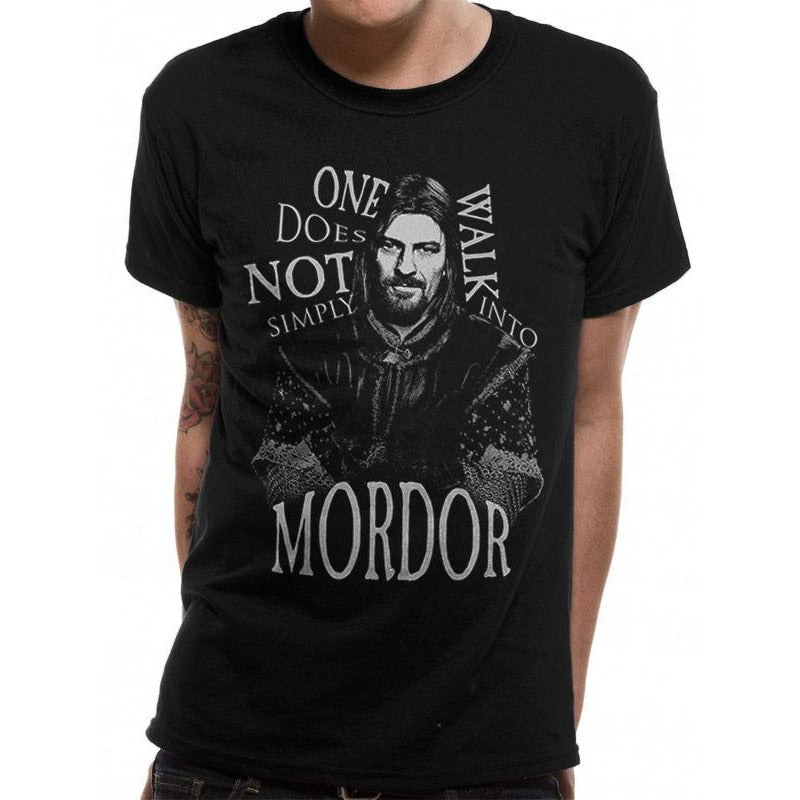LORD OF THE RINGS | WALK INTO MORDOR | UNISEX T-SHIRT