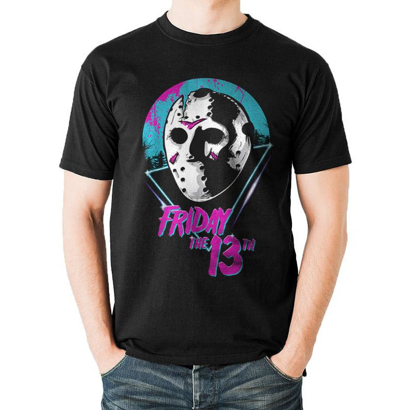FRIDAY THE 13TH | EIGHTIES MASK | UNISEX T-SHIRT
