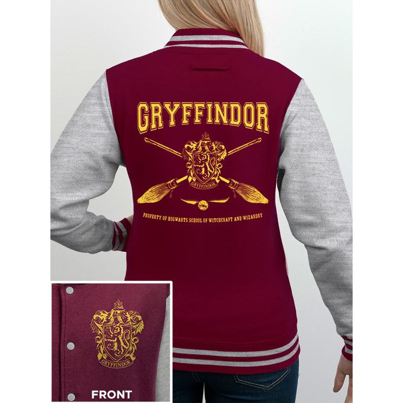 HARRY POTTER | COLLEGIATE GRYFFINDOR | VARSITY JACKET