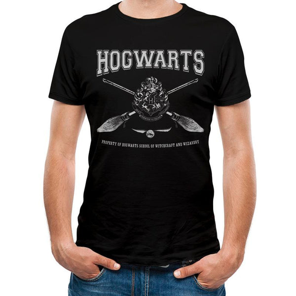 HARRY POTTER | COLLEGIATE HOGWARTS | UNISEX T-SHIRT