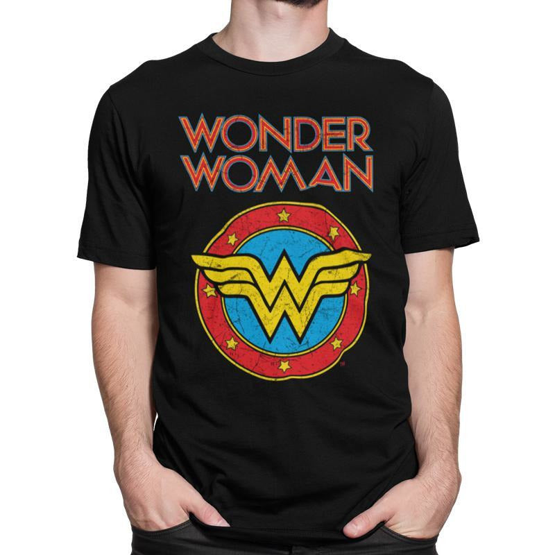 WONDER WOMAN  | VINTAGE LOGO | UNISEX T-SHIRT