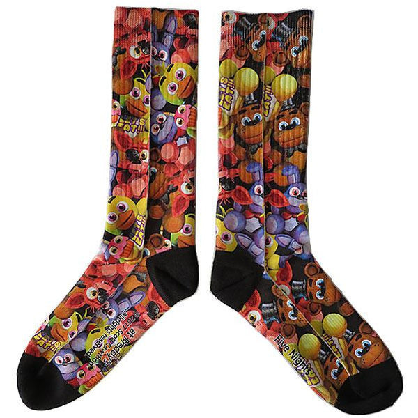FIVE NIGHTS AT FREDDYS | FACES | SOCKS