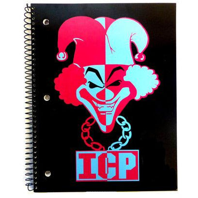 INSANE CLOWN POSSE | JESTER PAPERBACK JOURNAL | STATIONERY