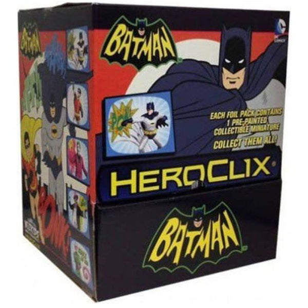 BATMAN | CLASSIC TV COUNTERTOP DISPLAY | HEROCLIX