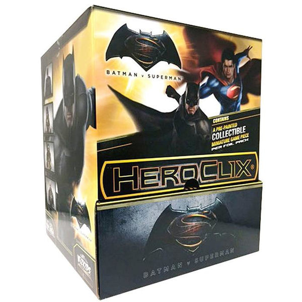 DC COMICS | BATMAN V SUPERMAN COUNTERTOP DISPLAY | HEROCLIX