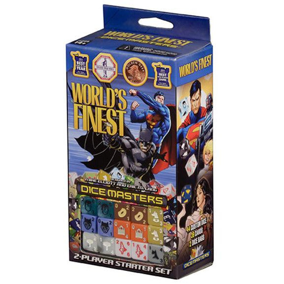 DC COMICS | WORLD'S FINEST DICE MASTERS STARTER SET | BOARD GAME