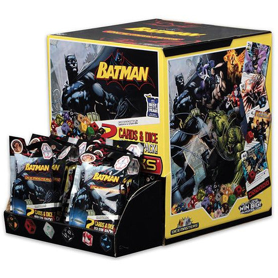 BATMAN | DICE MASTERS COUNTERTOP DISPLAY | HEROCLIX