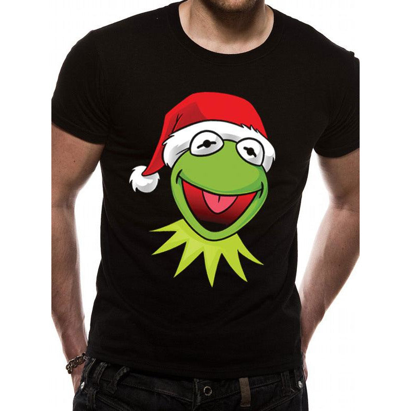 THE MUPPETS | KERMIT XMAS HAT | UNISEX T-SHIRT