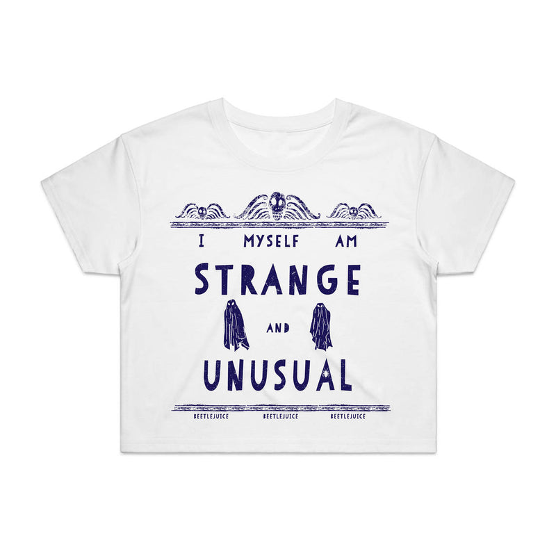 BEETLEJUICE | STRANGE AND UNUSUAL | CROP TOP