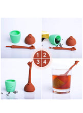 Load image into Gallery viewer, Good vibes Finger Tea Infuser