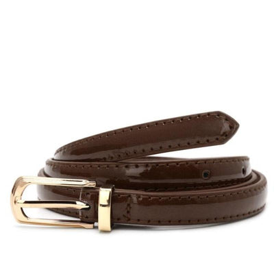 SLIM Leather Belt