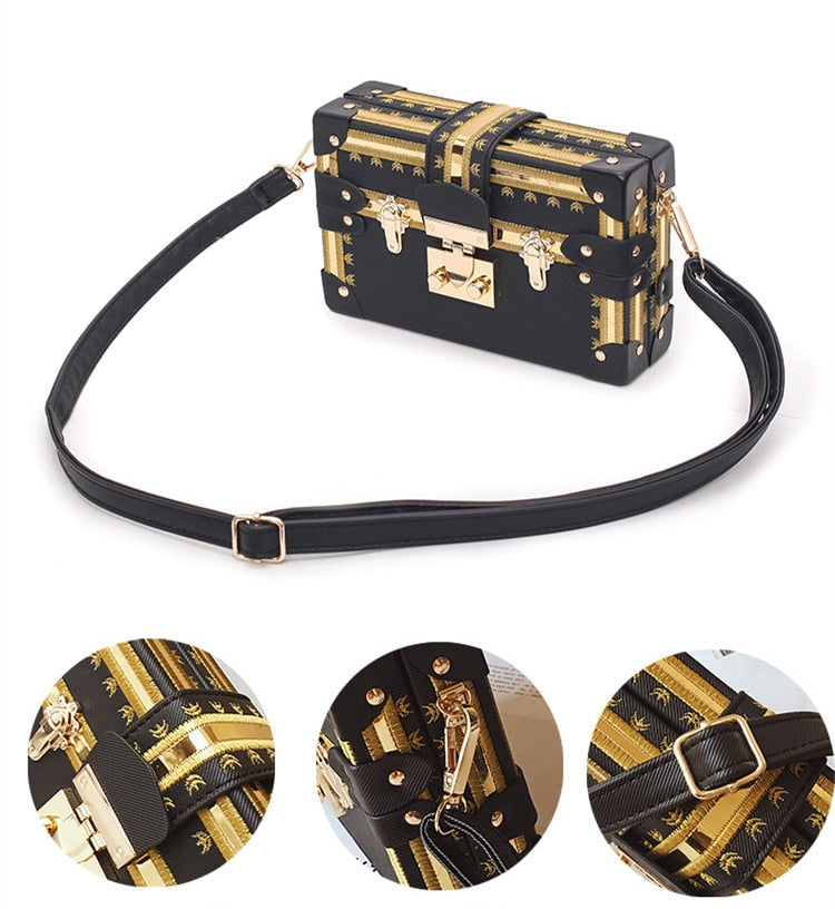 VEGAS Box Handbag