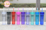 Bridal Party Skinny Tumbler