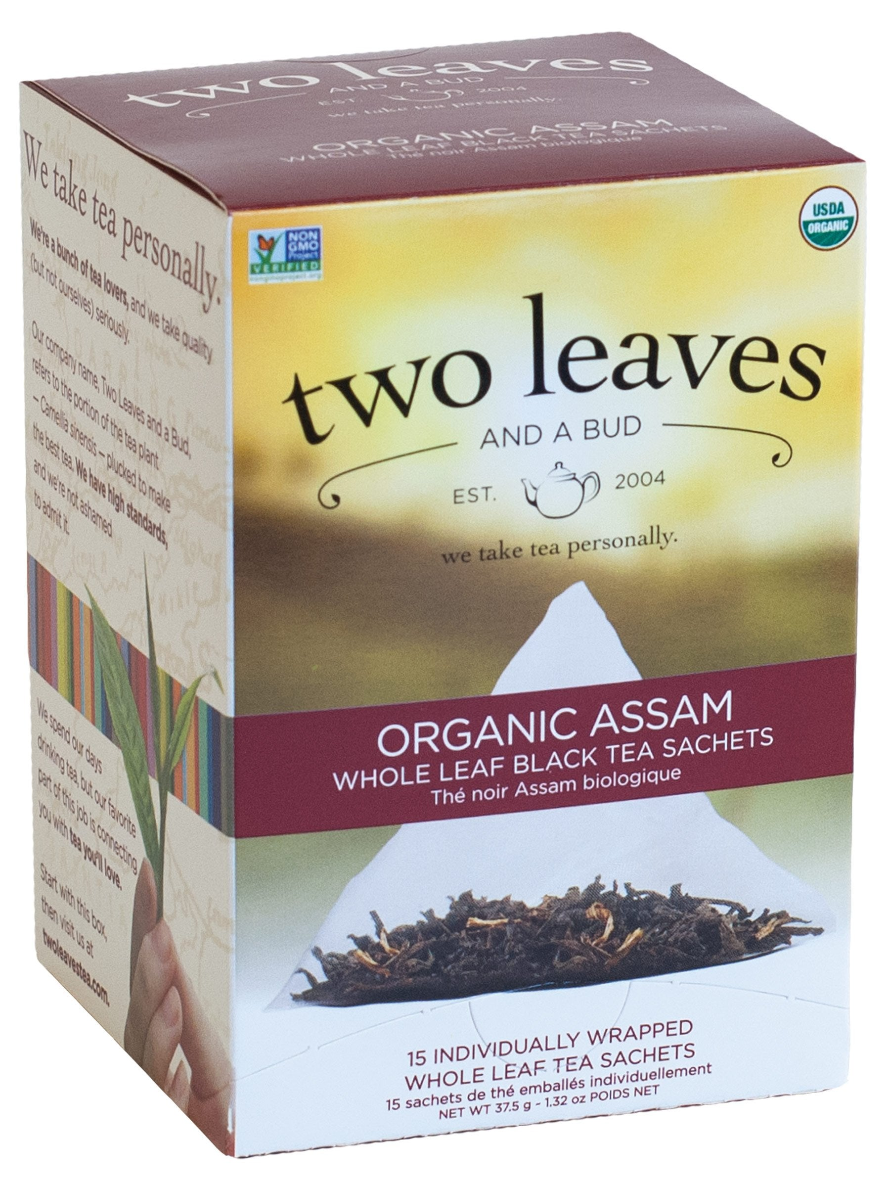 Assam Estate Tea - 15 sachets/box