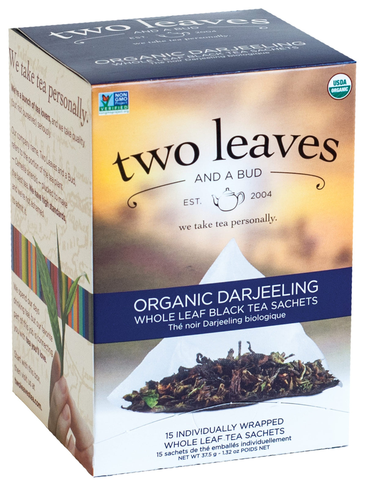 Darjeeling Tea - 15 sachets/box