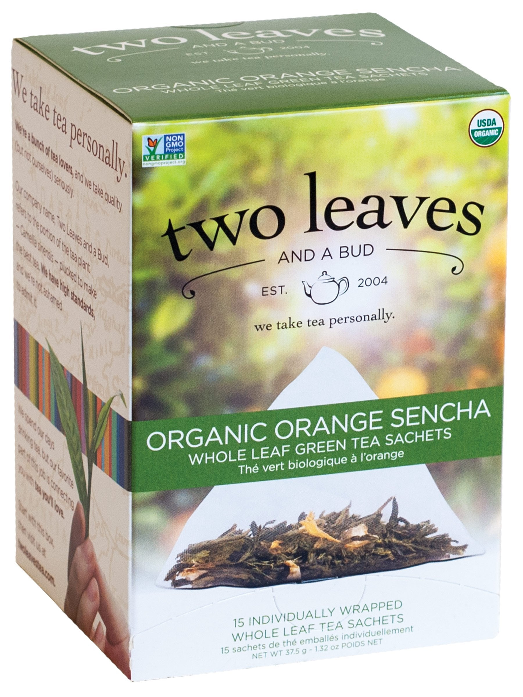 Orange Sencha - 15 sachets/box