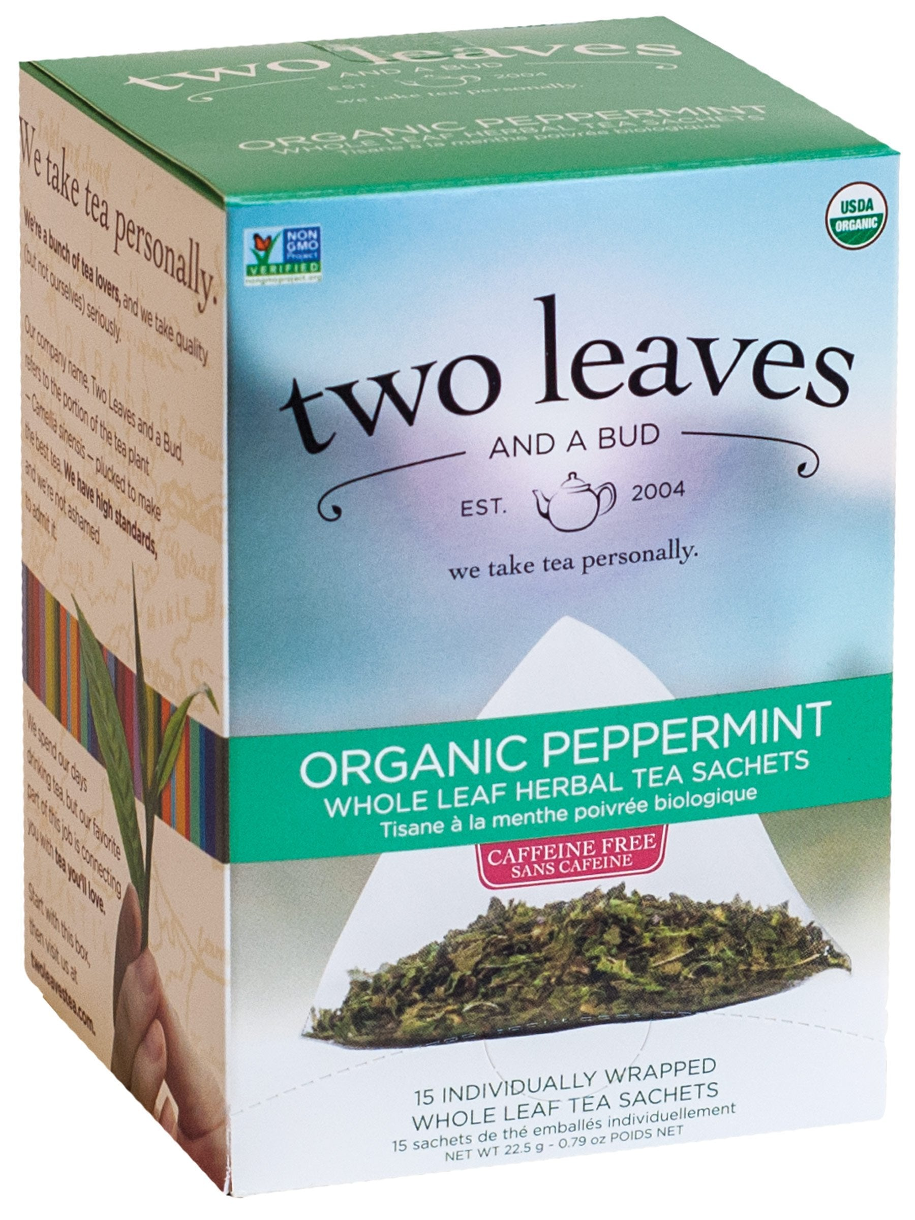 Peppermint - 15 sachets per box