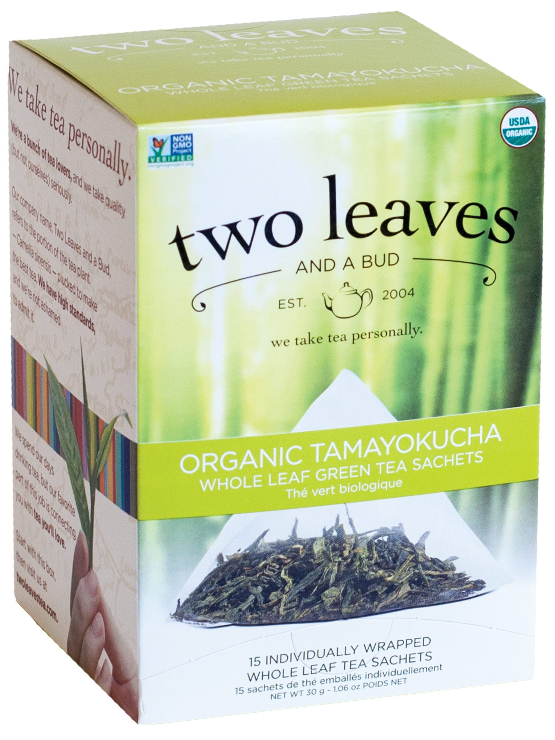 Tamayokucha Green Tea - 15 sachets/box