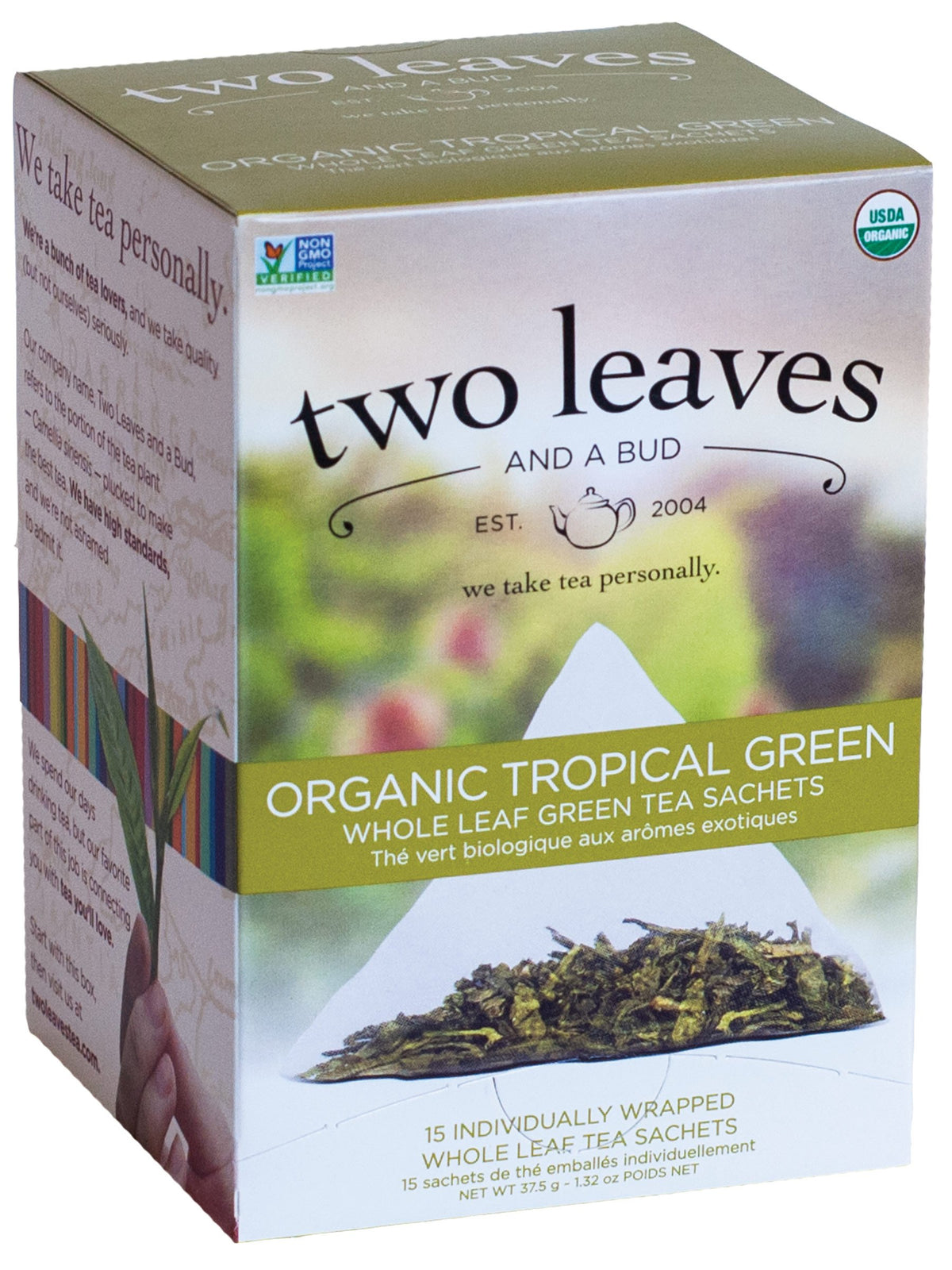 Tropical Green - 15 Sachets/box