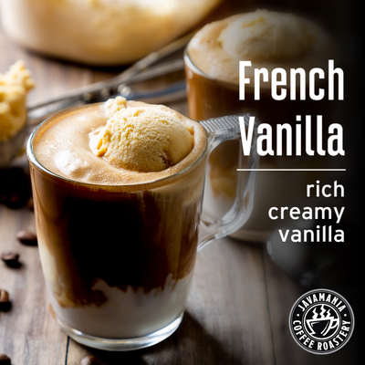 French Vanilla rich creamy vanilla