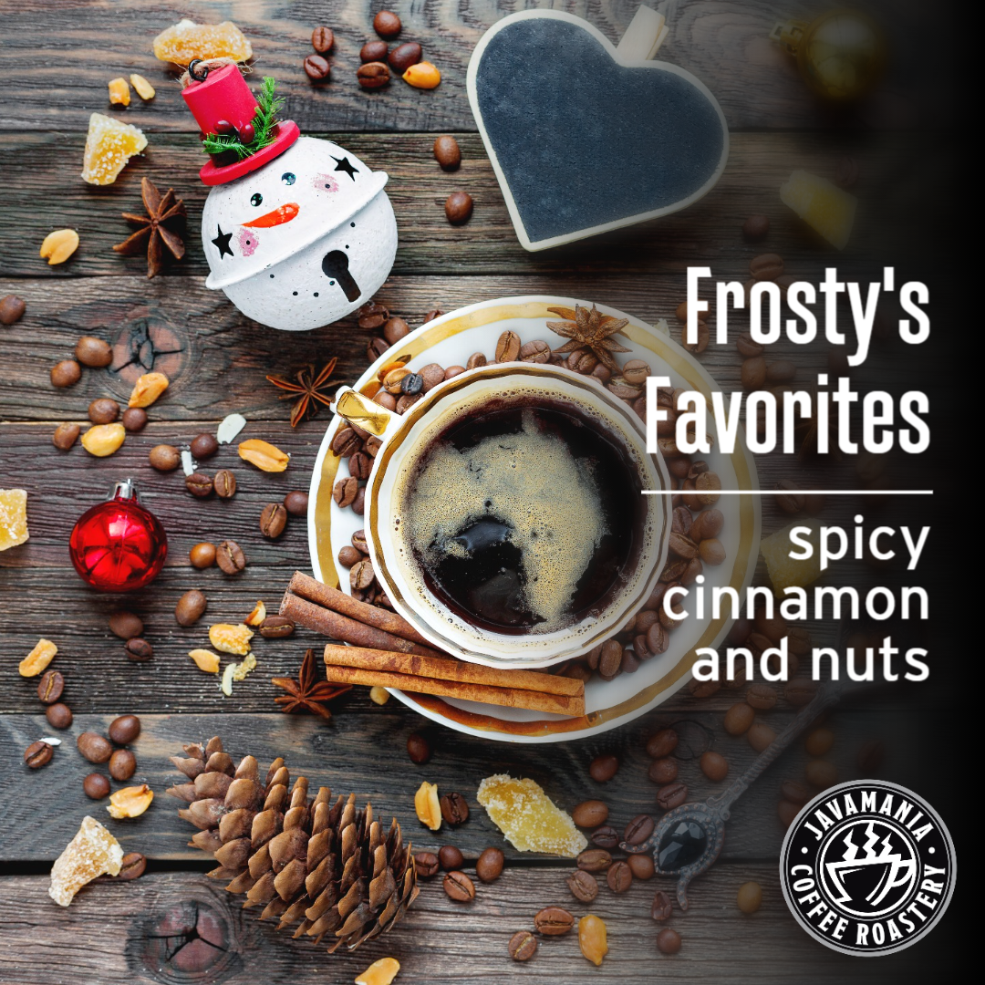 Frosty's Favorites spicy cinnamon and nuts