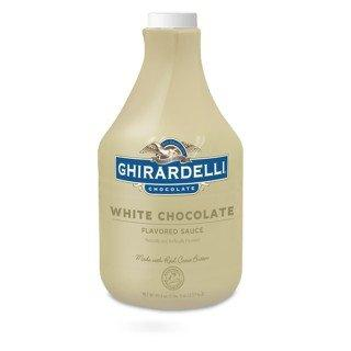 Ghirardelli White Chocolate Sauce - 64 fl. oz.